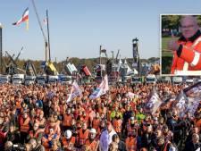 Jan (57) uit Ommen vanaf Malieveld: 'Mooie woorden, maar moeten zien wat ervan terecht gaat komen'