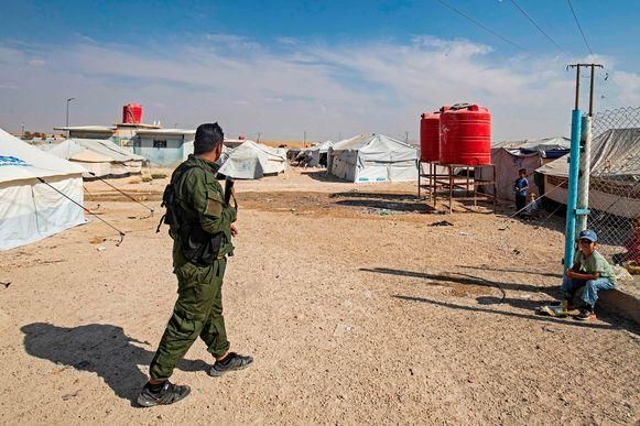 Het kamp Al-Hol in Syrië