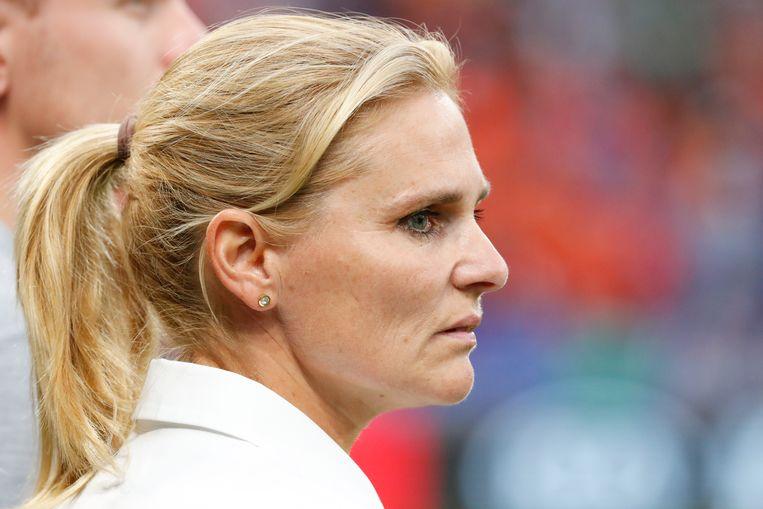 Sarina Wiegman  Beeld Getty
