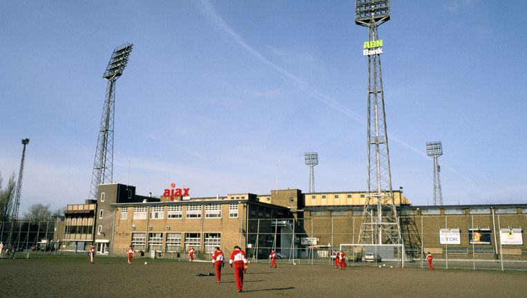Het voormalige Ajaxstadion De Meer. Beeld anp