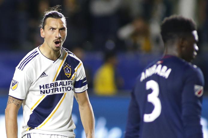 Zlatan Ibrahimovic (37) is het scoren nog altijd niet verleerd