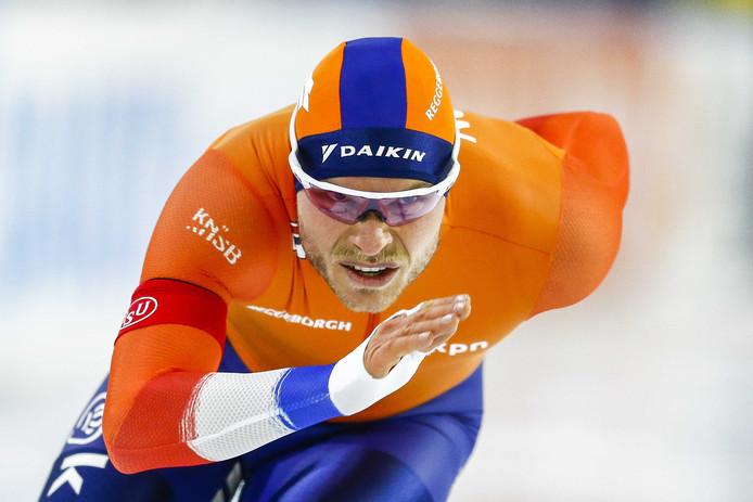 Koen Verweij probeert alsnog een startbewijs voor de 1.500 meter op de WK afstanden af te dwingen.