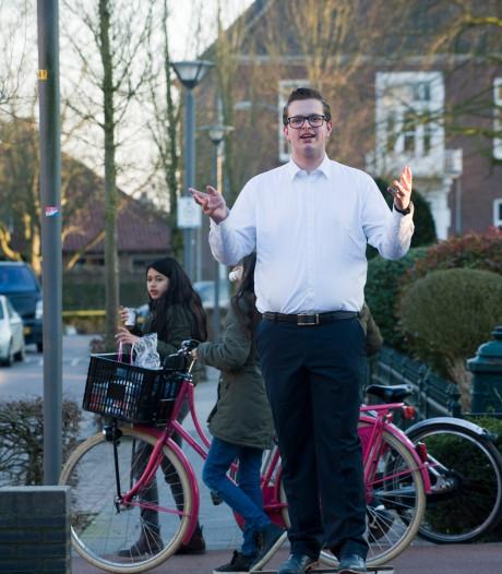 Niels van Andel op het stemkistje:  'Ik wil premier worden'
