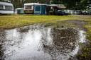 Regen op de camping, ook in Nederland wordt het vanaf dit weekend verwacht.