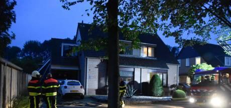 Gewonde bij woningbrand in Woudrichem
