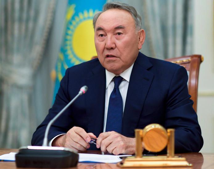 Voormalig president Nursultan Nazarbayev.