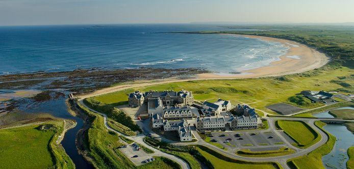 De Doonbeg Golf Club, het resort van de Amerikaanse president aan de westkust van Ierland.