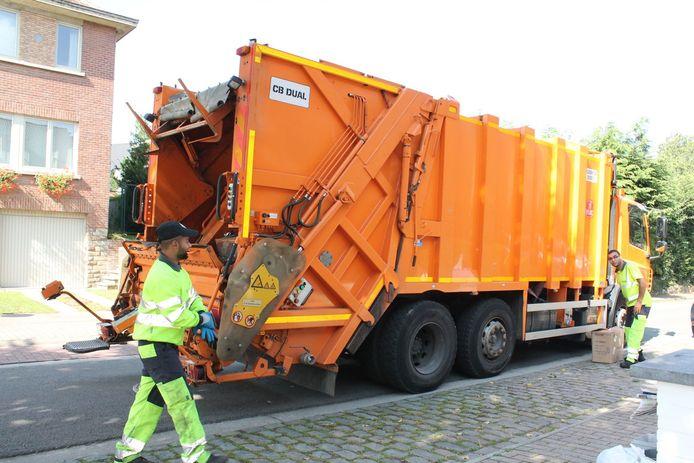 De vuilnisophaling bij Interza en Incovo