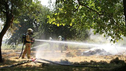 Veel brandjes door aanhoudende droogte