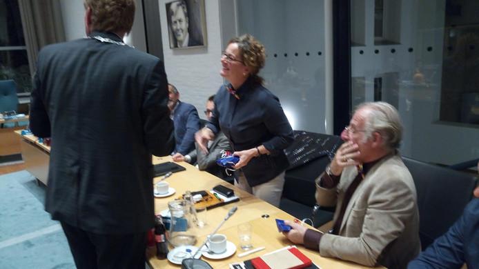 Afscheid PvdA-raadsleden Joyce Bommer en Cees van Ruiten.