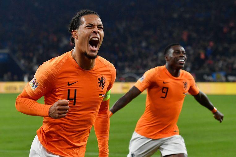 Virgil van Dijk zorgde in het slot nog voor de 2-2.
