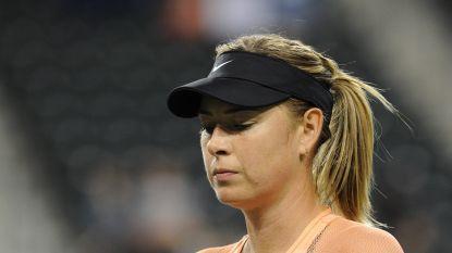 Maria Sharapova moet meteen inpakken in Indian Wells
