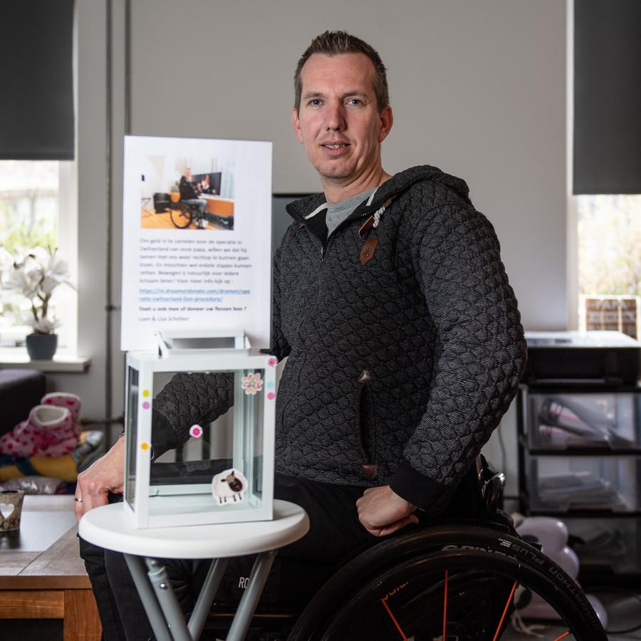 Roy Scholten startte een crowdfund actie voor een speciale therapie in Zwitserland, onder meer via Dream or Donate. Maar dat geld lijkt hij nu kwijt te zijn.