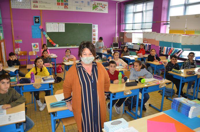 Thea Walgraeve (63) keerde terug uit pensioen om haar school uit de nood te helpen.