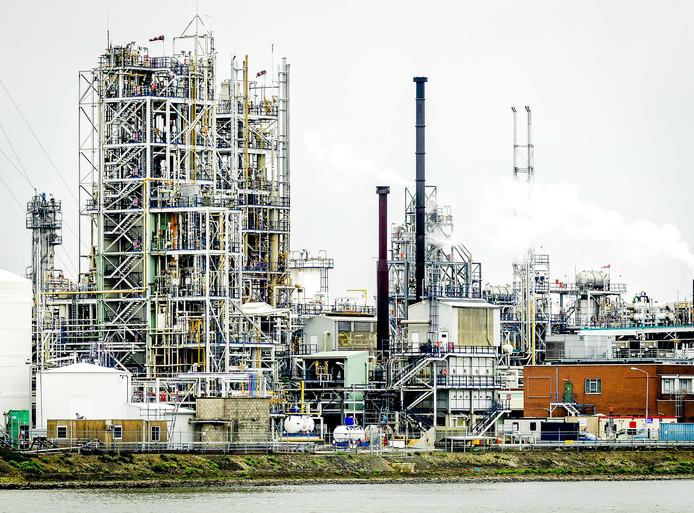 De fabriek in Dordrecht.