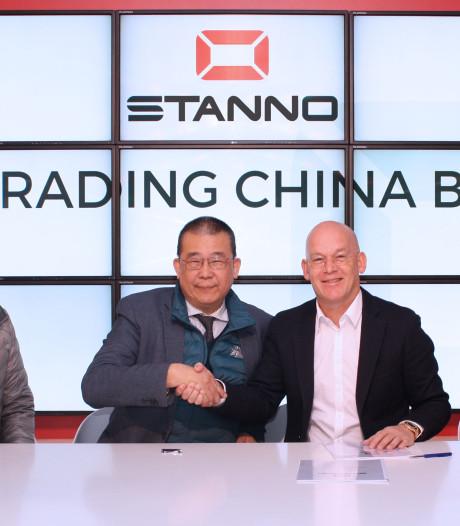 Deventrade gaat met Stanno de Chinese markt op
