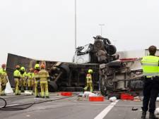 Dode en zes gewonden door zwaar ongeluk op A73