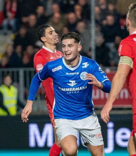 Opeens is Ruben Rodrigues uit Best dé goalgetter bij FC Den Bosch