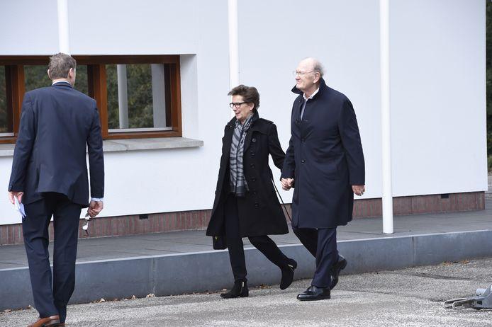 Joop van den Ende en zijn vrouw Janine. Foto: Daniel Kroll