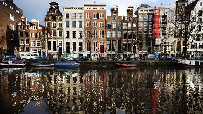 Grachtenpanden aan de Herengracht.