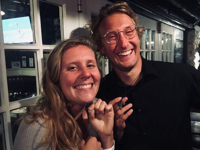 Simone en Thomas de Vos in Kaapstad