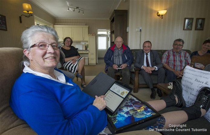 Met een blijverslening kunnen ouderen aanpassingen in de woning of het aanbrengen van domotica betalen, zodat ze langer zelfstandig kunnen blijven wonen.