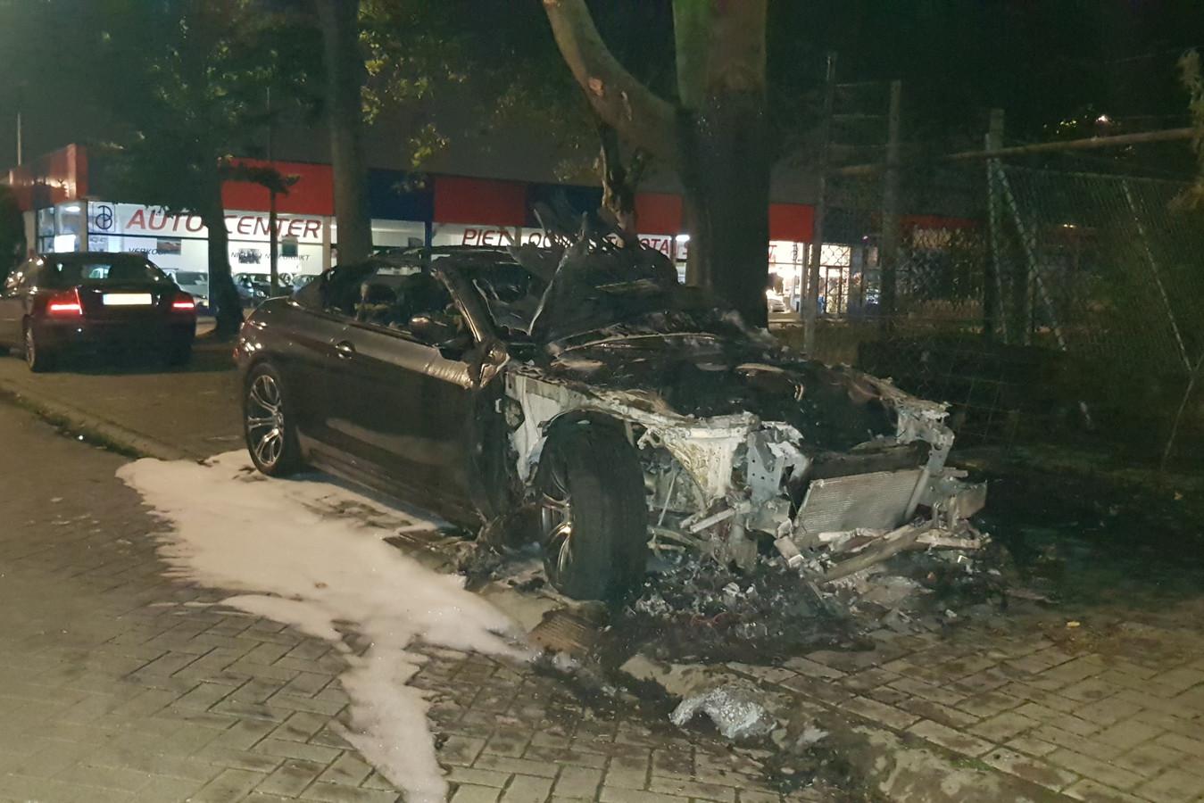 De BMW M6.