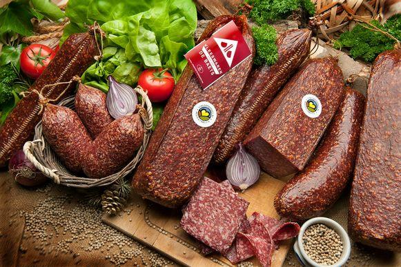 De boulogne van Vleeswaren De Baets in Sleidinge.