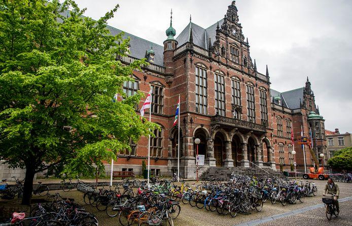 Exterieur van de Rijksuniversiteit Groningen