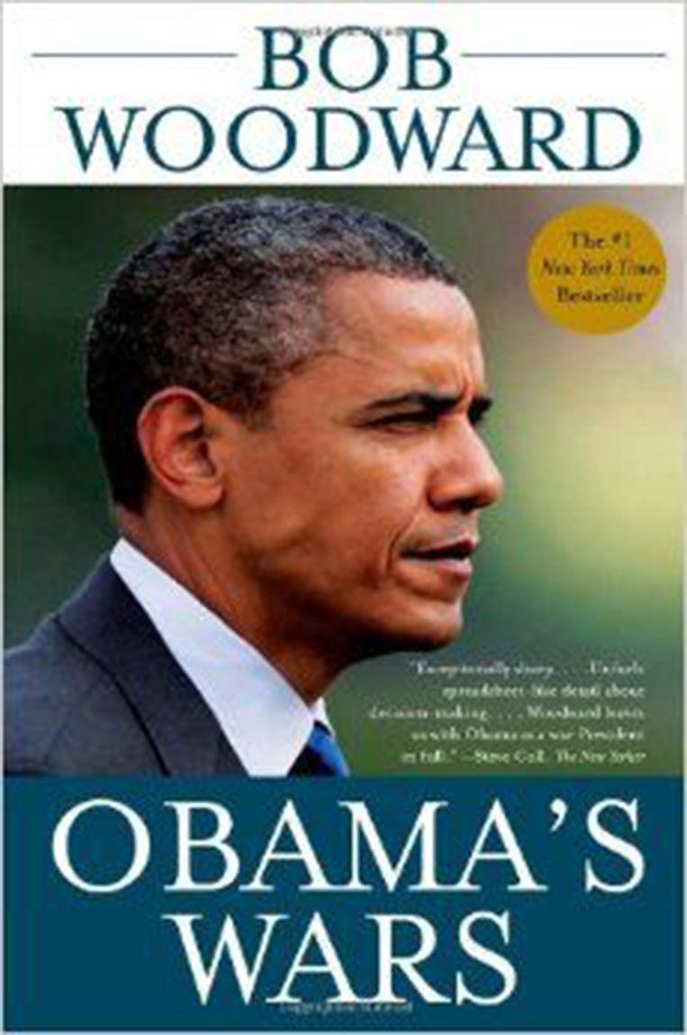 Uit de vrijgegeven documenten blijkt ook welke boeken in de boekenkast van Bin Laden zijn aangetroffen. Bin Laden las onder andere Obama's Wars. Beeld -