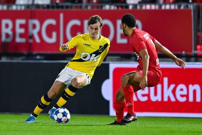 23 oktober kwam Kaj de Rooij, in de verloren uitwedstrijd tegen Almere City, voor het laatst in actie namens NAC.