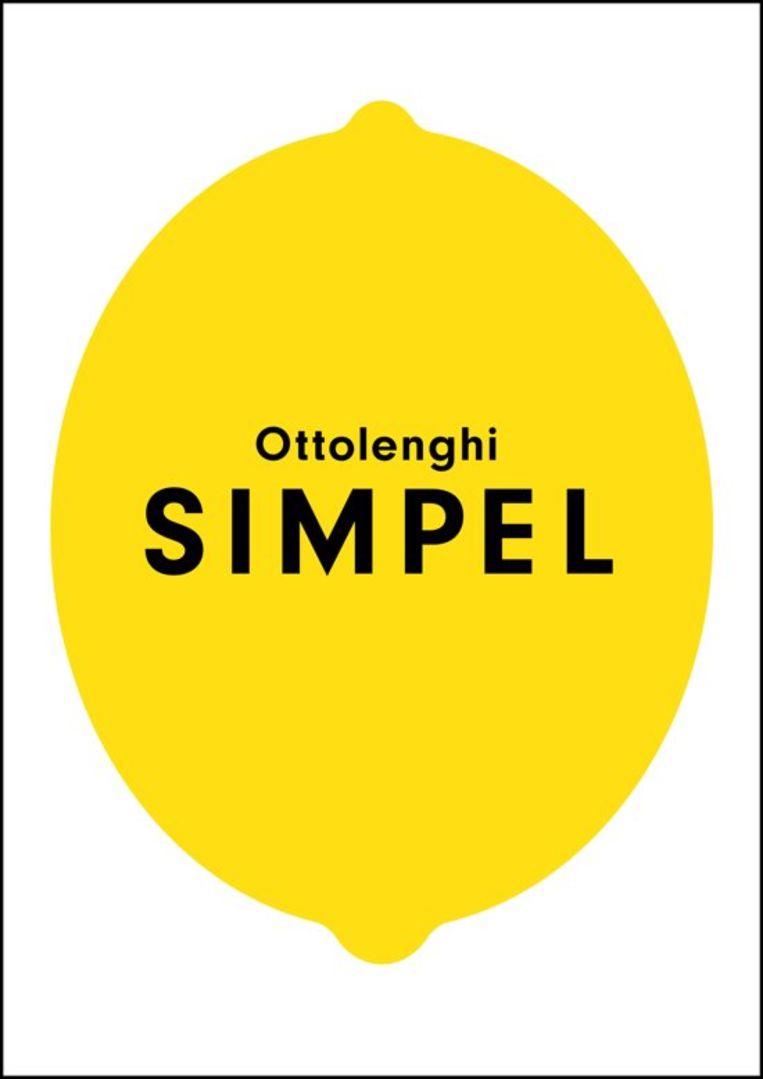 Het boek Simpel van Yotam Ottolenghi staat op nummer 1 in de bestsellerlijst.  Beeld x