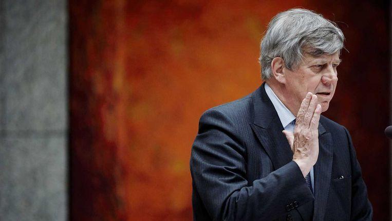 Gisteren maakte minister Ivo Opstelten (VVD, veiligheid en justitie) in het tv-programma 'WNL op Zondag' bekend dat inmiddels van dertig djihadgangers naar Syrië of Irak de uitkeringen zijn stopgezet. Beeld anp
