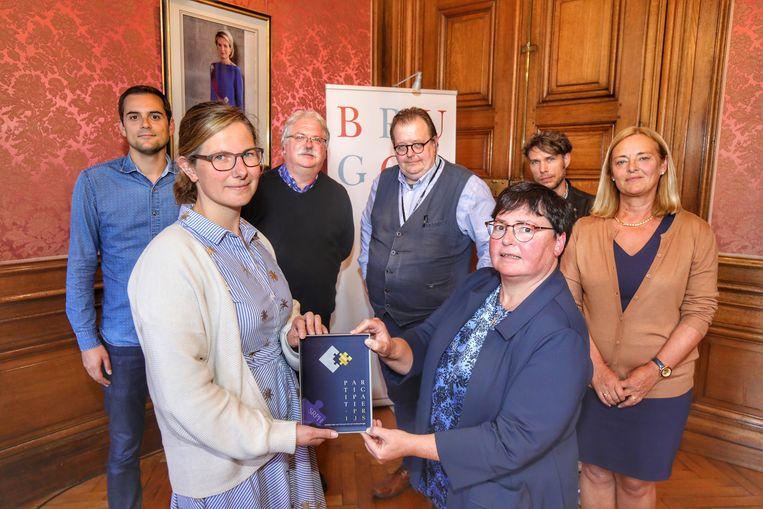 De participatietrofee is voor Musea Brugge.