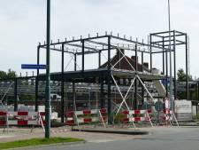 Nieuwe supermarkt aan Euterpeplein krijgt langzaam vorm