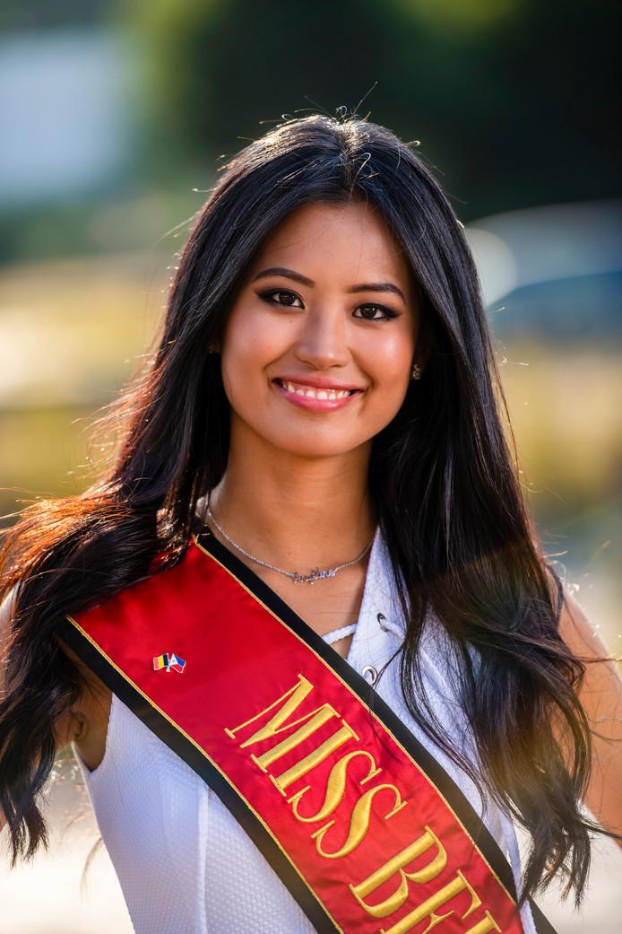 Angeline Flor Pua, Miss Belgique 2018.
