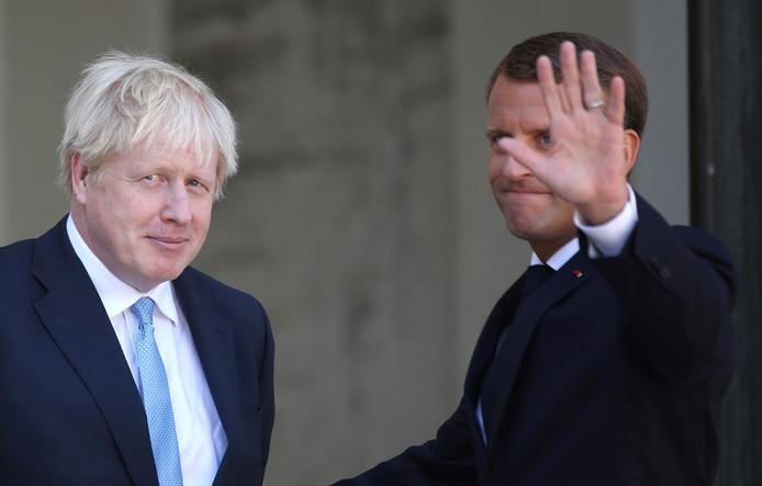 Emmanuel Macron et Boris Johnson