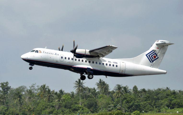 Een soortgelijk ATR42-300 toestel van Trigana Air is neergestort.