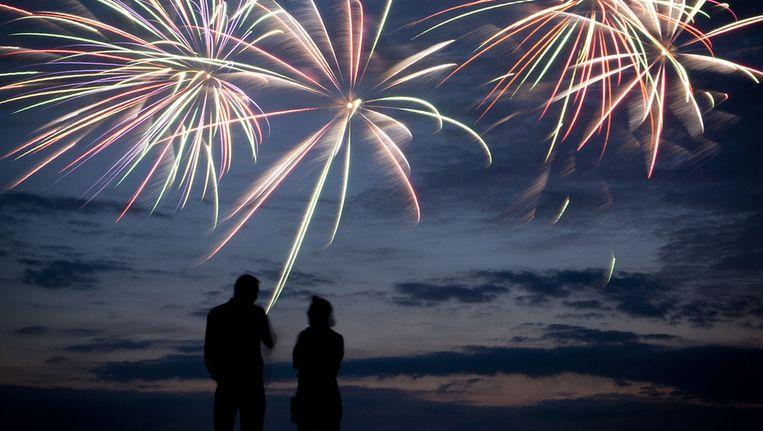 Het vuurwerkfestival in Scheveningen in augustus. Beeld ANP