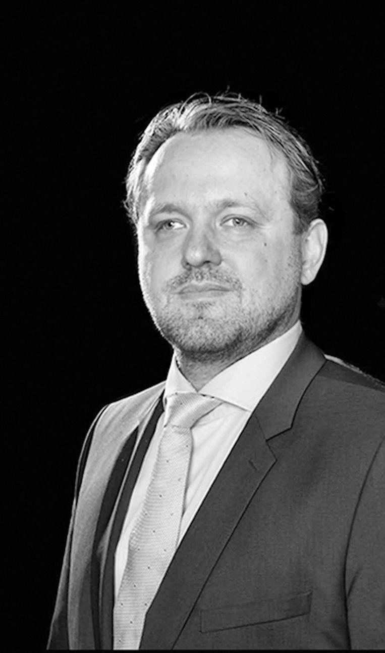 Steve Smit, bestuurslid van Huurdersvereniging Oostzaan. Beeld