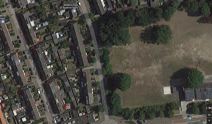 Het groen aan de Molenstraat in Vught moet wijken voor bouwplan 'Elzenburg'.