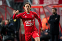 Giovanni Troupée debuteerde in het shirt van Twente.