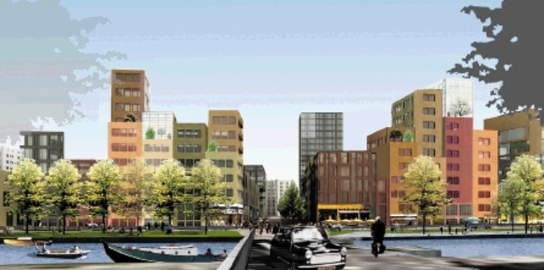 Impressie Overstad, Alkmaar. (Trouw) Beeld