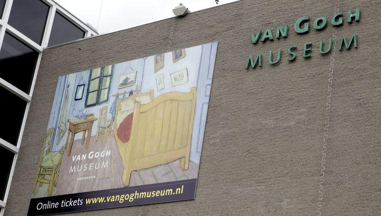 Voor de liefhebber is er in het Van Gogh Museum een workshop stuntvechten. Foto ANP Beeld