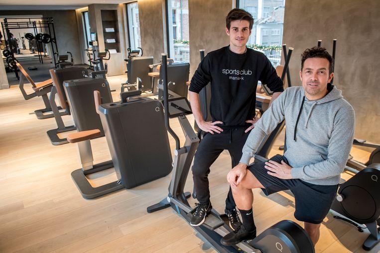Viktor Maddens en Peter Van Hulle zijn de gezichten van Mania-K Sports Club.