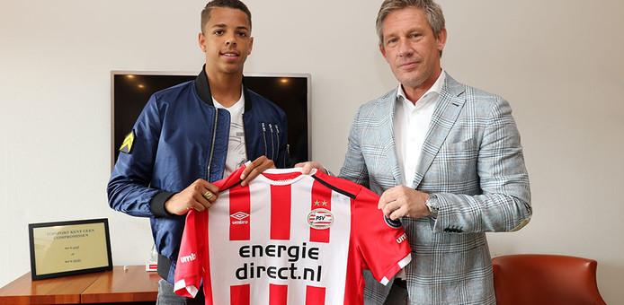 Justin Lonwijk ligt bij PSV nog vast tot midden 2019.