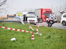 78-jarige motorrijder overleden na ongeluk op A58 bij Kapelle