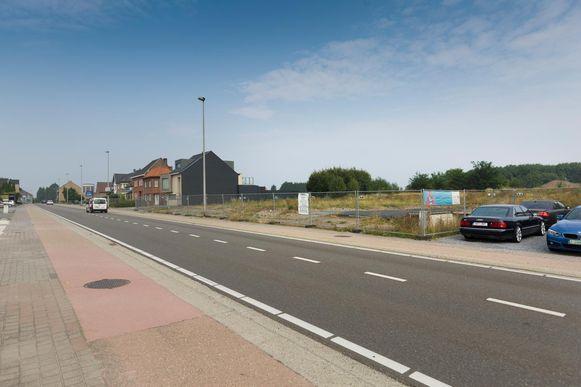 Deze locatie kreeg goedkeuring voor de bouw van een nieuwe Colruyt-winkel.