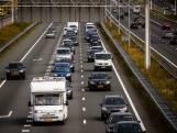 Weg weer vrij op A58 tussen Ulvenhout en Tilburg, nog wel file