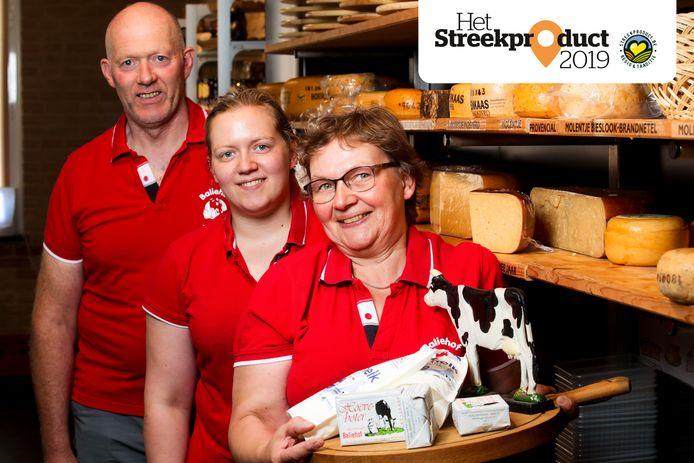 Luc Callemeyn en Krista Stroo samen met hun dochter Sofie.